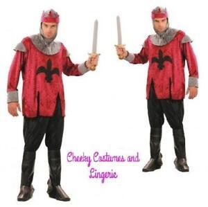 King Arthur Medieval Knight Renaissance Prince Fairytale TV Film Costume
