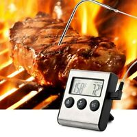 Meat Thermometer Instant Read Digital Kitchen Food Grill Liquid BBQ Candy Baking