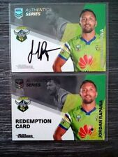 Autograph Modern (1970-Now) Era Canberra Raiders NRL & Rugby League Trading Cards