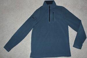Men Sz Small Under Armour Storm Coldgear Micro Fleece Loose 1/2 Zip Pullover Top