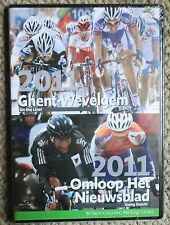 2011 Omloop Het Nieuwsblad/Ghent Wevelgem World Cycling Productions 2 DVD New