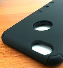 For iPhone 6S+ PLUS - BLACK Armor Hybrid Cover Accessory Skin Case HARD&SOFT TPU