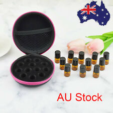 12 Bottles Travel Aromatherapy Essential Oil Storage Carry Bag Storage Case Box