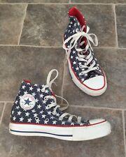 Converse Chuck Taylor Navy  Blue Star Hi Top Trainers Baseball Boots Size Uk 3
