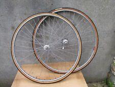 ROUES JANTES/ MOYEUX MAVIC ALU ANCIEN VELO COURSE ROAD RACE WHEELSET BICYCLE 700