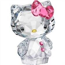 Swarovski Crystal Figurine - #1096877 Hello Kitty Pink Bow ADORABLE