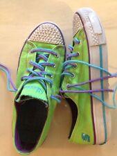 Sketchers Size 3 Girls Sneakers Green