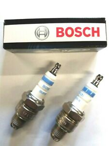 2 Candle 4 Tips BOSCH Super 4 Fiat 500 126 Various Car & Vintage Motorcycles