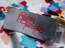 RUBY TUESDAY FrilledVneckPocketedSleevelessSz10 EUC