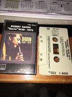 BOBBY DARIN DARIN 1936-1973 Cassette Tape