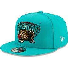 Men's New Era Turquoise Vancouver Grizzlies HWC Nights Adjustable Snapback Hat