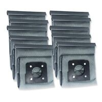 10X(8PC Washable Dust Cloth Bag Hepa Filter Cleaner Bag for LG V-743RH V-2803U6)