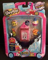 Shopkins Season 8 World Vacation Americas #159 SLOPPY JOJO Green Pink Mint OOP