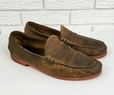 Allen Edmonds Sedona Penny Loafers 10.5 Aged Brown