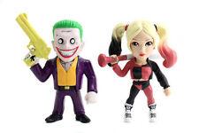 Jada Metals DC Twin Pack Suicide Squad Harley Quinn JOKER BOSS MAN set lot New