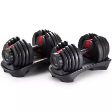 Bowflex Selecttech 1090 Adjustable Dumbells (Pair) Replicas 5-90 pounds (in kg)