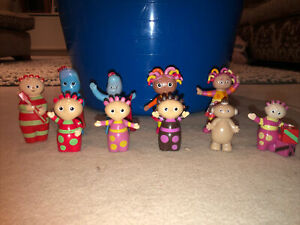 In The Night Garden Figures Set Iggle Piggle Upsy Daisy