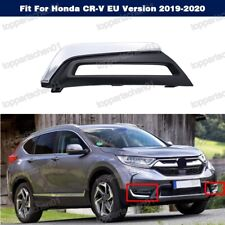 Left Chrome Fog Lamp Light Cover Trim Bezel For Honda CR-V EU Version 2019-2020