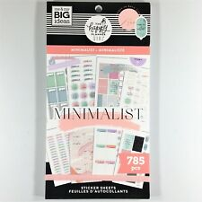 The Happy Planner Girl Minimalist Sticker Book Pack Of 785 Me & My Big Ideas