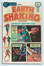 Dc Special # 18 1975 Earth Shaking Stories - Superman- Flash