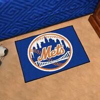 """MLB - New York Mets Durable Starter Mat - 19"""" X 30"""""""