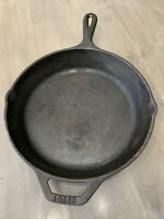 Vintage Lodge 8sk U.S.A. 10 Inch Cast Iron Skillet Preowned
