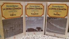 la Divina Commedia opera in tre volumi anno 1975, Rizzoli editore