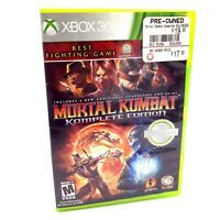 Mortal Kombat Komplete Edition ~ Xbox 360 ~ Tested ~ Free Shipping