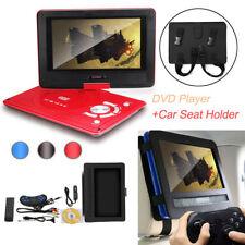 10'' Tragbar DVD Player MP3 MP4 Spieler mit Auto Sitz Kopfstütze Halterung Set