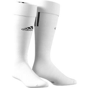 adidas Stutzen Santos 3 Stripes weiß alle Größen Z56222