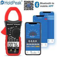 Digital Multimeter Clamp Meter AC DC Current 4000 Range Volt Tester Portable New
