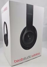 New Beats by Dr Dre Studio 2.0 Wireless Headphones headband Matte Black