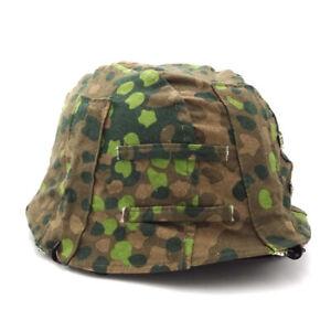 WWII German Elite M1935 M35 Helmet Cover DOT 44 CAMO Helmet Cover