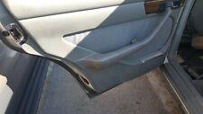 MERCEDES W126 300SD 82 USED LEFT REAR INTERIOR DOOR TRIM PANEL GREY 1982