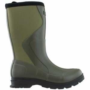"Ariat Springfield Waterproof Rain  Womens  Boots   Mid Calf Low Heel 1-2"" -"