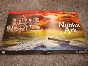 NOAH'S ARK 1997 Emmy ad in flooded water, Jon Voight, Carol Kane, James Coburn