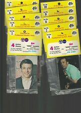 1972 Bowling Card 10 Pack Set