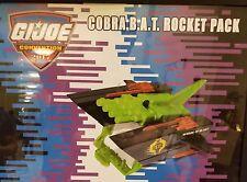 2017 GI Joe Con Convention JoeCon Con Cobra BAT Rocket Glider Jet Pack