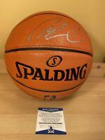 Nate Robinson Bulls Knicks Autographed Signed Spalding Basketball Beckett COA