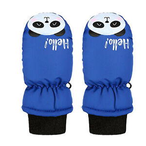 AU Toddler Kids Baby Boys Girls Ski Gloves Waterproof Outdoor Warm Snow Mittens