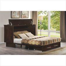 QUEEN ARASON CREDEN-ZZZ MURPHY ALTERNATIVE CABINET BED*COFFEE FINISH*NEW MODEL