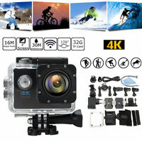 Waterproof 4K SJ9000 Wifi HD 1080P Ultra Sports Action Camera DVR Cam Camcorder