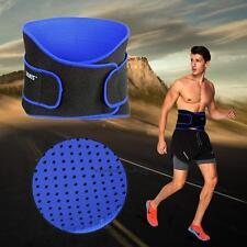 Lower Back & Lumbar Waist Support Belt Pain Relief Brace Strap Posture Trimmer #