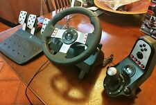Logitech G27 Racing Wheel , Pedals and Shifter/ Similar To G29 & 920 / PC PS3