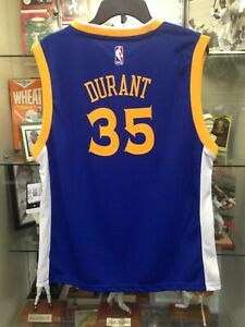 Kevin Durant Warriors Youth XL18 Adidas Jersey NEW w/tags