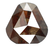 Natural Loose Diamond Triangle I1 Clarity Brown Champagne Color 0.88 CT N7866