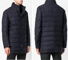 Hugo Boss Virgin Wool Jacket Mantel Parka Coat Quilted Step Padded Jacke New 48
