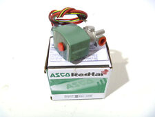 """1/4"""" ASCO 8262H038 2W NC 120/60 Stainless Steel Solenoid Valve NEW IN BOX"""