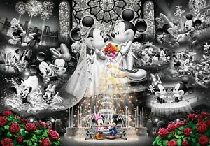 Tenyo Puzzle 1000pc Disney Mickey & Minnie Forever Promise Frost Art 66776