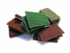 Mixed Abrasive Hand Pads- Rust Removal, Scratch Satin Finishing (Kit 68)